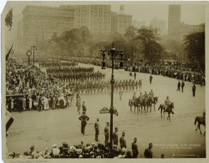 106th Infantry Farewell parade 1917