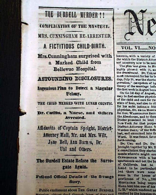 NEW YORK DAILY TIMES, August 5, 1857