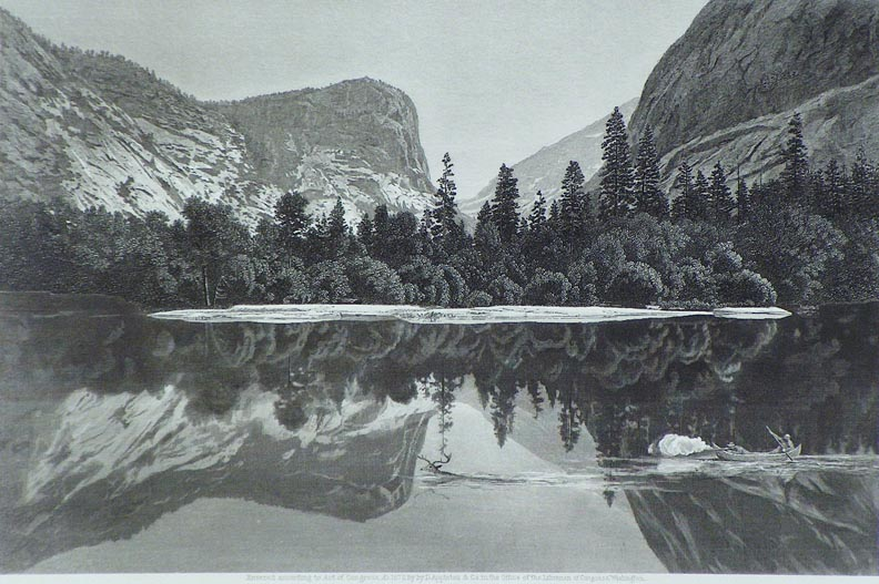 James D. Smillie's Mirror Lake Yosemite